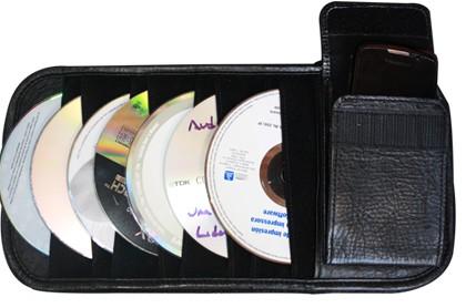 Comprar CD Holder cuero
