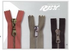 Comprar Metal zippers