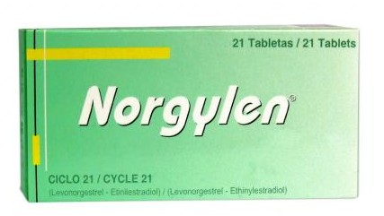 Comprar Anticonceptivos orales Norgylen