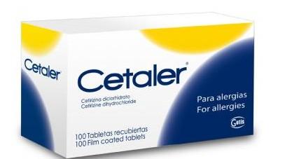 Comprar Medios antihistamínica Cetaler