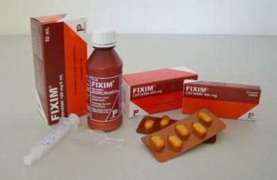 Comprar Comprimidos antibióticos Fixim