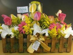 Bouquet para los huéspedes