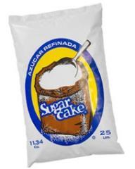 El azúcar en polvo