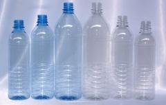 Botellas de PET para agua y bebidas