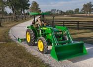 Tractor modelo 5055E - 55 hp