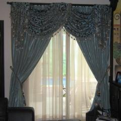 Curtains with a canopy