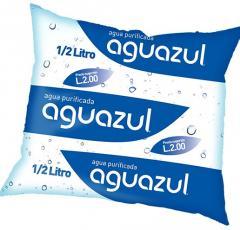 El agua en las bolsas