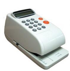 Protectora de cheques electrónica
