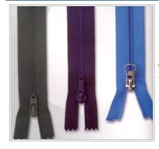 Nylon coil zippers