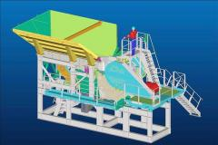 Cedarapids 3042 Modular Jjaw crushing plant