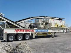 Cedarapids mvp 280 w/ 6 X 20 horiz closed circuid crushing plant