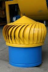 Turbinas de ventilación