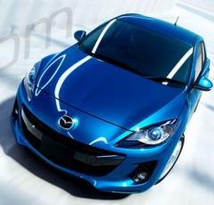 Coche modelo Mazda3