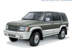 Classic marco SUV Isuzu Trooper