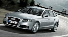 Car sedan class D modelo Audi A4