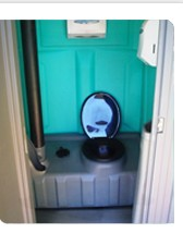 Baños portátiles  tipo intermedio