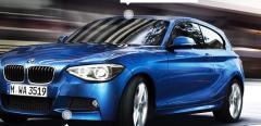 Hatchback coche BMW 1 series