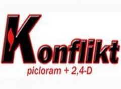 Protección contra las malas hierbas Konfkikt