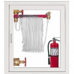 Rack y carrete de manguera contra incendios