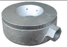 Quemador de hierro para cocina industrial