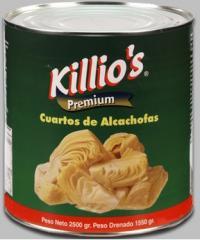 Alcachofa marinados