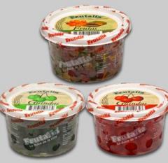 Fruta cristalizada