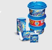 El detergente para lavavajillas