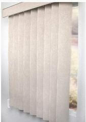 Persianas verticales de tela