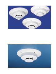 Wireless smoke detectors