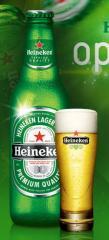 Cerveza brand Heineken