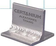 Las aleaciones de titanio forjado
