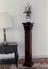 Mahogany Pedestals