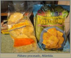 TOSTONES DE PLATANO HAWAIANO