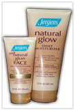 Natural gloW face daily moisturizer JERGENS