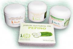 Crema limpiadora natural de pepino