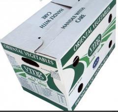 Caja de cartón ondulado Nueva