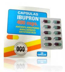 Pastillas antiespasmódicas Ibupron