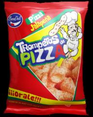 Trompetas de pizza
