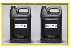 Poliuretano y Pegamento en liquido